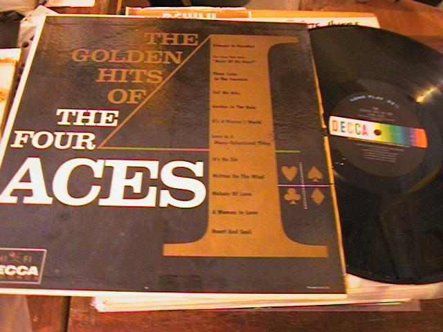 THE FOUR ACES - GOLDEN HITS - DECCA - PM 198