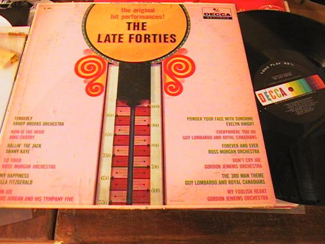 VARIOUS ARTISTS -HITS OF THE LATE FORTIES - DECCA - PM206