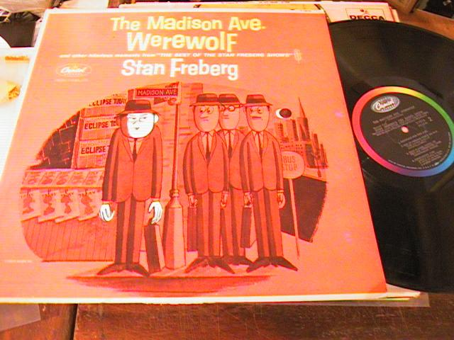 STAN FREBERG - MADISON AVE. WEREWOLF - CAPITOL - PM 207