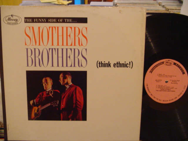 SMOTHERS BROTHERS - THINK ETHNIC - MERCURY PROMO - PM 162