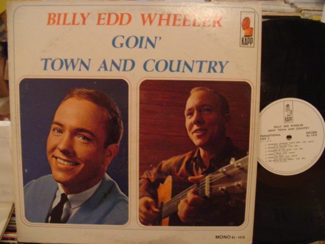 BILL EDD WHEELER - GOIN TOWN & COUNTRY - KAPP PROMO - PM 161