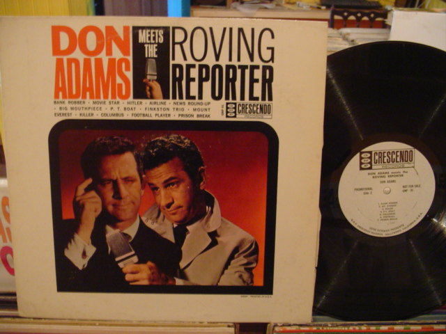DON ADAMS - ROVING REPORTER - CRESCENDO PROMO - PM 139