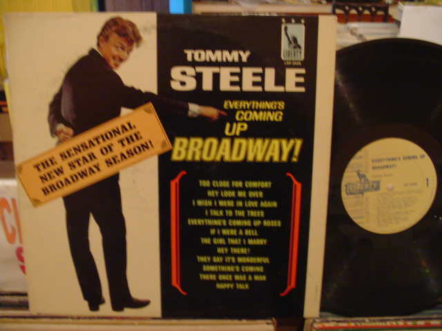 TOMMY STEELE - COMING UP BROADWAY - LIBERTY PROMO - PM 138