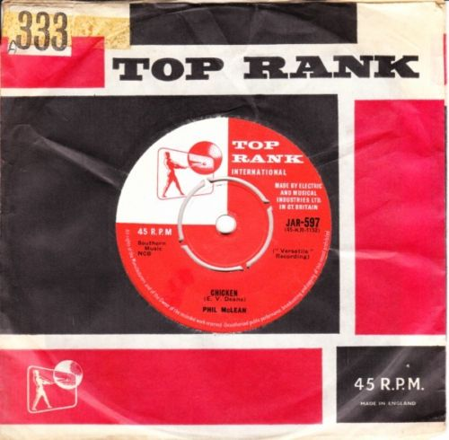 PHIL McLEAN - SMALL SAD SAM - TOP RANK 2811