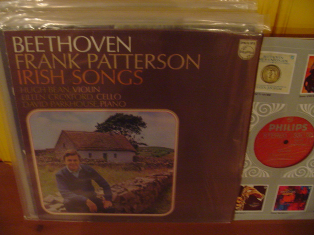 PHILIPS - BEETHOVEN - IRISH SONGS - FRANK PATTERSON