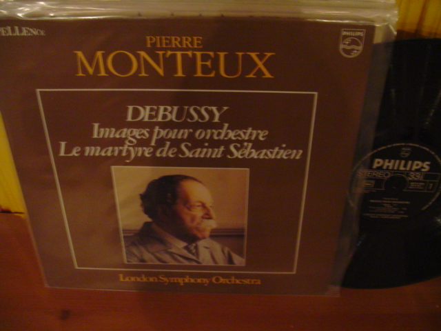 PHILIPS - DEBUSSY - IMAGES POUR ORCHESTRA - MONTEUX