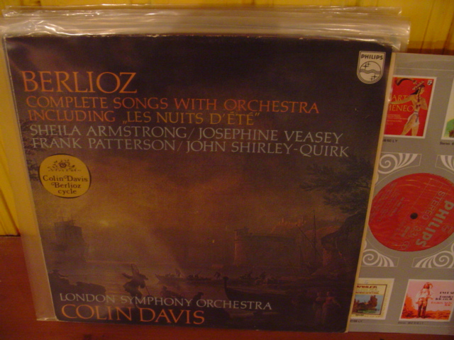 PHILIPS - BERLIOZ SONGS - , VEASEY , PATTERSON - COLIN, DAVIS