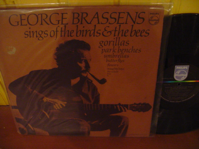 PHILIPS - GEORGE BRASSENS - BIRDS BEES