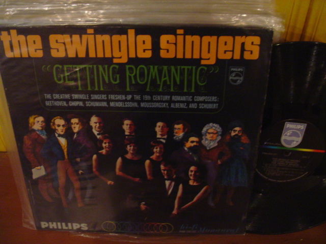 PHILIPS - SWINGLE SINGERS - GETTING ROMANTIC