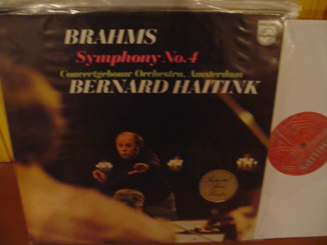 PHILIPS - BRAHMS SYMPH No 4 - - HAITINK