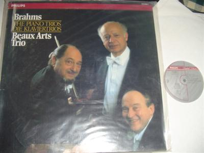 BEAUX ARTS TRIO - BRAHMS PIANO - PHILIPS 2LP { P 154