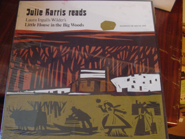 SEALED - JULIE HARRIS LITTLE HOUSE BIG WOOD - 4 LP SET [ 36