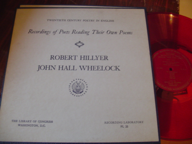 POETRY - ROBERT HILLYER , J HALL WHEELOCK - [ 38