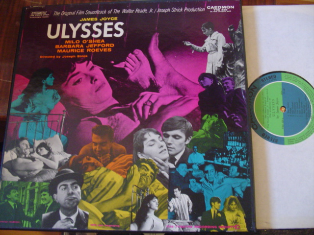 JAMES JOYCE - ULYSSES - MILO O SHEA - 2 LP SET CADEMON [ 52