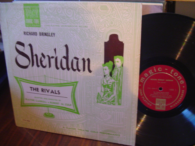 R BRINSLEY SHERIDAN - THE RIVALS - MAGIC TONE [ 57
