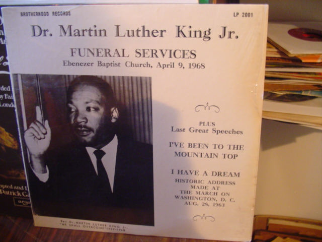 SEALED - MARTIN LUTHER KING - FUNERAL SERVICE 1968 [ 60