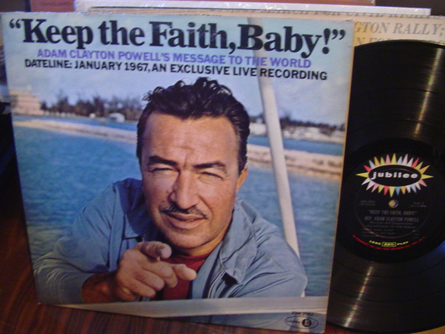 ADAM CLAYTON POWELL - KEEP THE FAITH BABY - JUBILEE [ 63