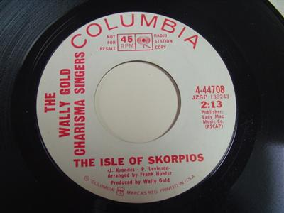 WALLY GOLD - ISLE OF SKORPIOS - COLUMBIA PROMO P 84