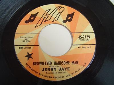 JERRY JAYE - BROWN-EYED HANDSOME MAN - HI PROMO P 95