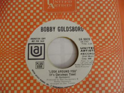 BOBBY GOLDSBORO - LOOK AROUND YOU - UA PROMO P 105