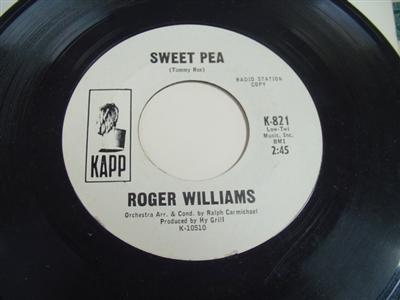 ROGER WILLIAMS - LOVE ME FOR EVER - KAPP PROMO P 76