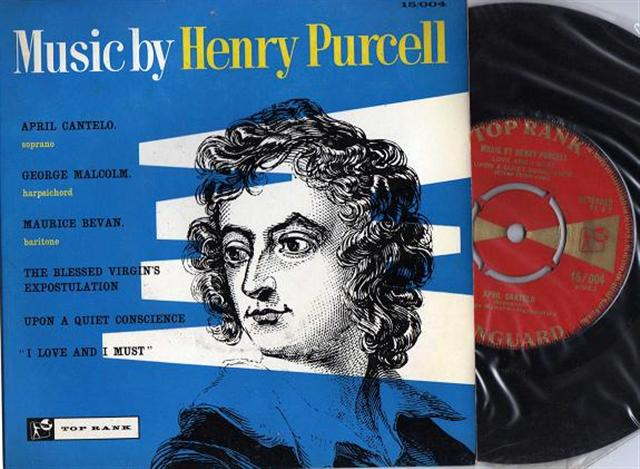 HENRY PURCELL - CANTELO , BEVAN - TOP RANK 004