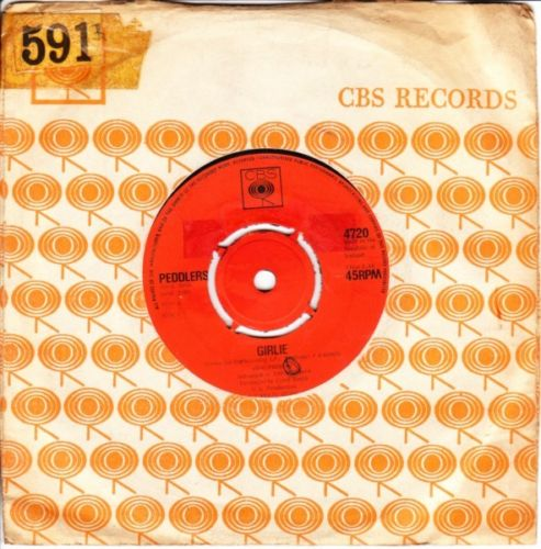 Peddlers - Girlie - CBS IRISH Pressing 1969 Mint Minus