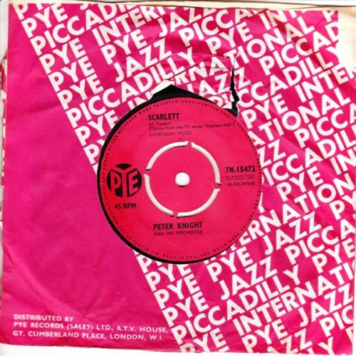 Peter Knight - Camel Train / Scarlett - PYE UK 3094
