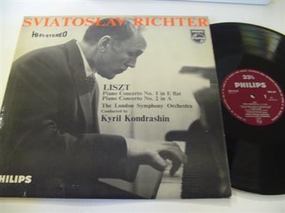 RICHTER - PIANO - LISZT - KONDRASHIN - PHILIPS { R 245