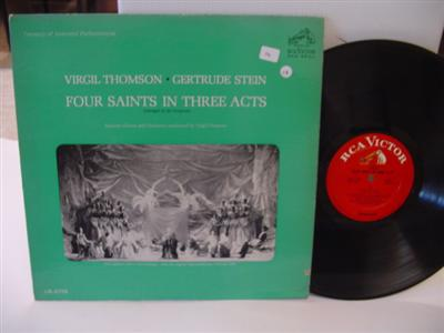 VIRGIL THOMPSON - FOUR SAINTS 3 ACTS - RCA { 215
