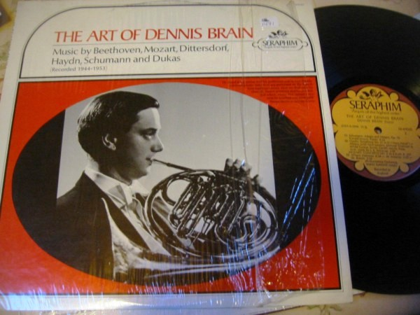 DENNIS BRAIN - THE ART OF - SERAPHIM