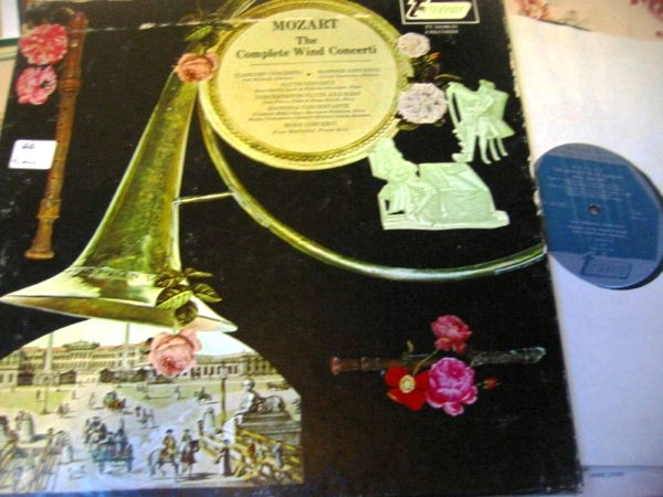 MOZART - COMPLETE WIND CONCERTI - TURNAVBOUT 4LP