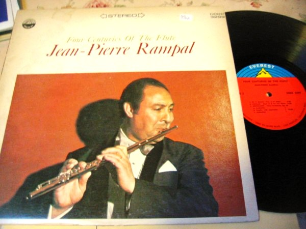 JEAN PIERRE RAMPAL - 4 CENTURIES FLUTE - EVEREST