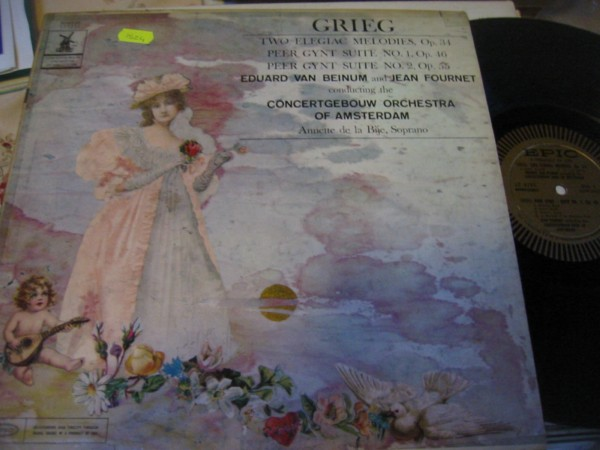 GRIEG - PEER GYNT SUITES - VAN BEINUM & FOURNET - EPIC