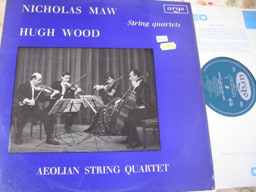 MAW & WOOD String QUARTET - AEOLIAN - ARGO { R 1783