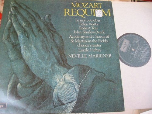 MOZART - REQUIEM - MARRINER - ARGO { R 1787
