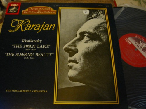 TCHAIKOVSKY - SWAN LAKE & SLEEPING BEAUTY - KARAJAN ANGEL ,