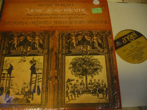 PURCELL - MUSIC FOR THEATRE - MENUHIN - ANGEL