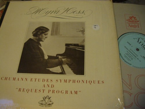 MYRA HESS - PIANO SCHUMANN - ETUDES & REQUEST - ANGEL