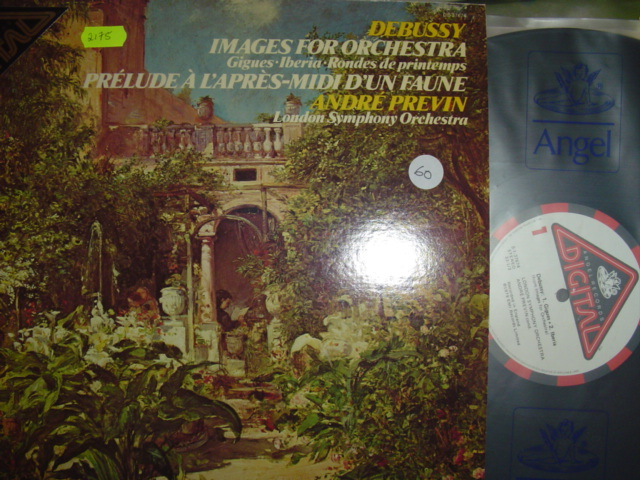 DEBUSSY - IMAGES FOR ORCHESTRA - PREVIN - ANGEL