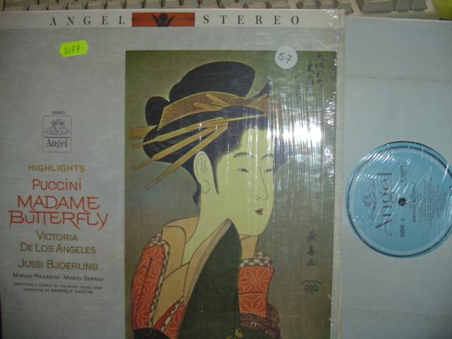 PUCCINI - MADAME BUTTERFLY - SANTINI - ANGEL
