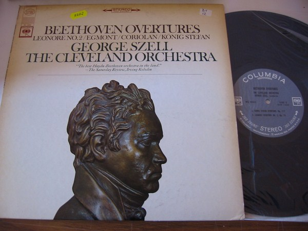 BEETHOVEN - OVERTURES LEONORE - SZELL COLUMBIA