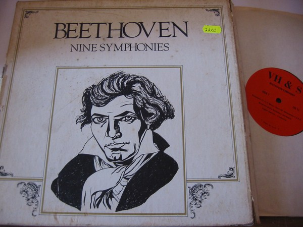 BEETHOVEN - NINE SYMPHONIES - JOCHUM - V H & S RECORDS