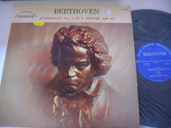 BEETHOVEN - SYMPH No 5 - SERAPHIM SYMPHONY ORCH