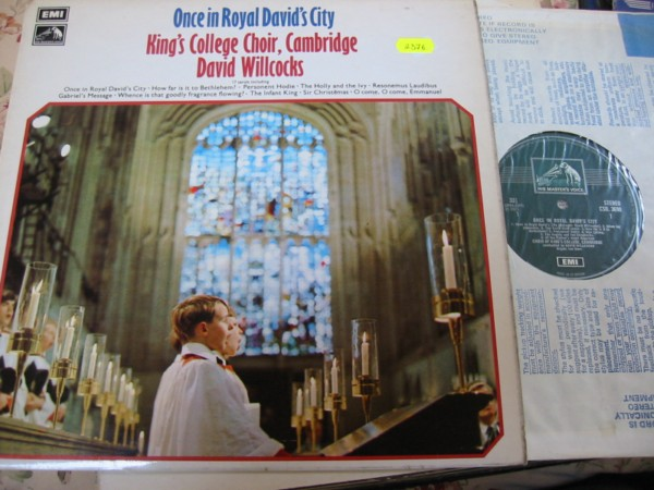 KINGS COLLEGE CHOIR - BOYS ROYAL DAVID CITY EMI
