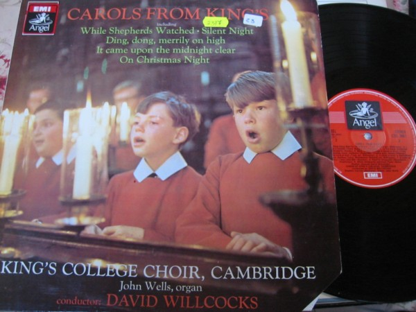KINGS COLLEGE CHOIR - BOYS - CAROLS WILLCOCKS EMI