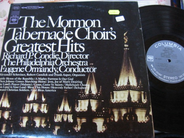 MORMON TABERNACLE CHOIR - GREATEST HITS - COLUMBIA
