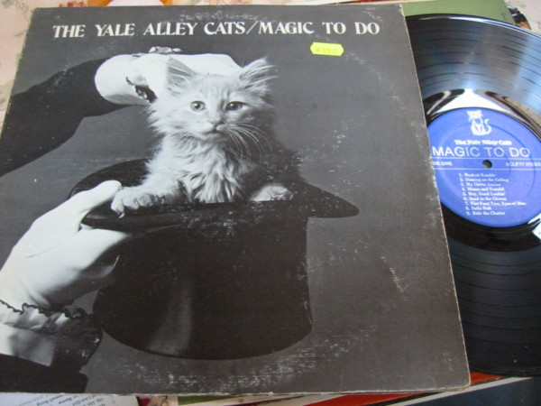 YALE - ALLEY CATS - MAGIC TO DO - PRIVATE PRESS