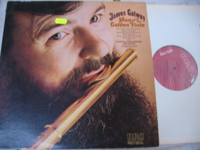 JAMES GALWAY - MAN WITH GOLDEN FLUTE - RCA