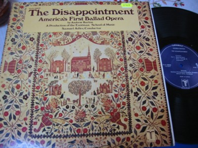 BARTON - THE DISAPPOINTMENT / BALLAD - ALDER - VOX